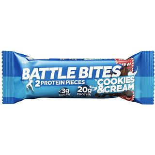 Battle Bites Cookies & Cream 62g 1 st