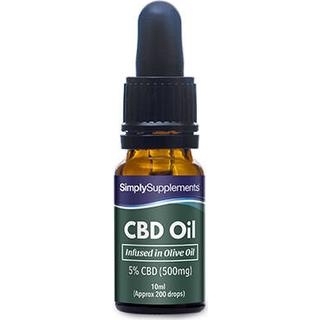 Simply Supplements CBD Olive Oil 10ml