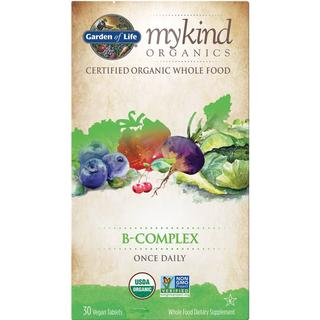 Garden of Life Mykind Organics B-Complex Once Daily 30 st