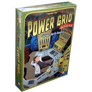 Rio Grande Games Power Grid Deluxe: Europe/North America