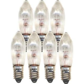 Star Trading 304-70 Incandescent Lamps 3W E10 7-pack