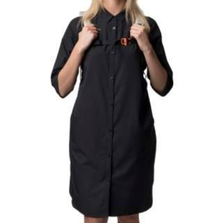 Houdini W's Route Shirt Dress - True Black
