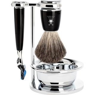 Mühle Rytmo Fusion Shaving Set Black Resin
