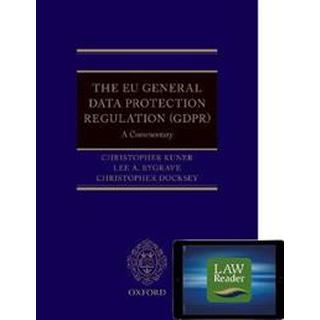 The EU General Data Protection Regulation (GDPR): A Commentary Digital Pack