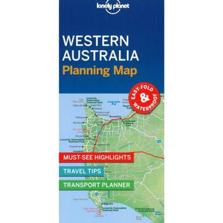 Lonely Planet Planning Map: Western Australia