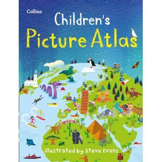Collins Children's Picture Atlas (Bog, Hardback)