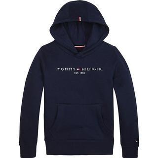 Tommy Hilfiger Essential Logo Hoodie - Black Iris (KB0KB05057)