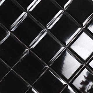 Bathlife Metro Black tiles-sub-13 15x15cm