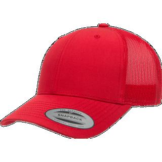 Flexfit Retro Trucker Cap - Red