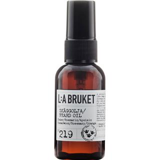 L:A Bruket 219 Beard Oil Cedarwood/ Rosemary/ Orange 60ml