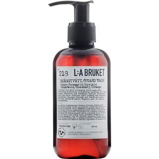L:A Bruket 218 Beard Wash Cedarwood/ Rosemary/ Orange 200ml