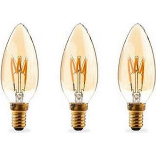 Nedis LEDBTFE14CAN3P LED Lamps 3W E14 3-pack