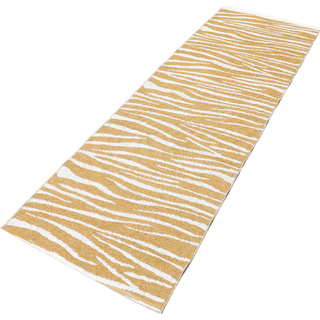 RugVista CVD21690 Zebra (70x210cm) Vit, Gul