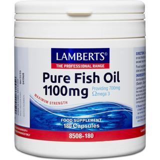 Lamberts Pure Fish Oil 1100mg 180 st