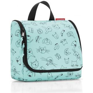Reisenthel Toiletbag - Cats and Dogs Mint