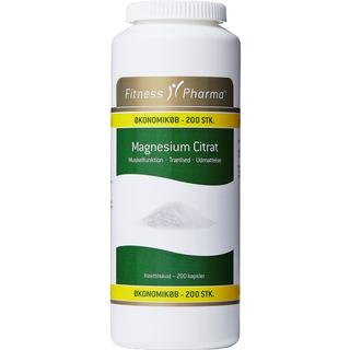 Fitness Pharma Magnesium Citrate 200 st