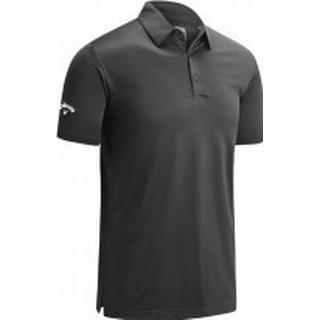 Callaway Swing Tech Tour Fit Solid Polo - Asphalt