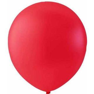 Hisab Joker Latex Ballon Red 100-pack
