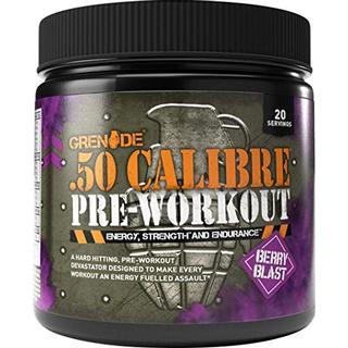 Grenade .50 Calibre Pre Workout Berry Blast 232g