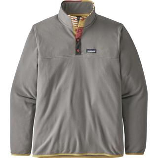 Patagonia Micro D Snap-T Fleece Pullover - Feather Grey
