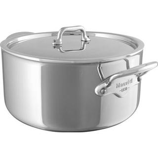 Mauviel Cook Style Gryta med lock 1.7 L 16 cm