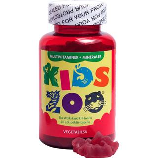 Kids Zoo Multivitaminer+Mineraler 60 st