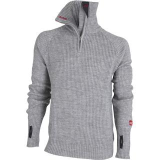 Ulvang Rav Sweater w/zip Unisex - Grey Melange