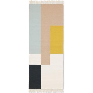Ferm Living Kelim Squares (70x180cm) Flerfärgad