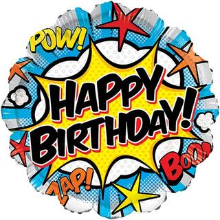 Hisab Joker Foil Ballon Happy Birthday Comic