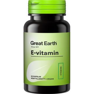 Great Earth E-Vitamin 60 st