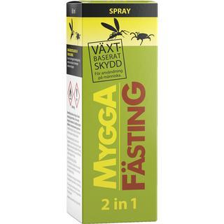 Mygga Fästing 2 in 1 Spray 60ml