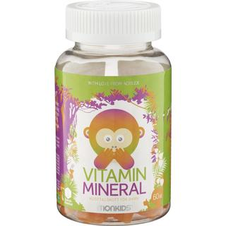 Monkids Vitamin Mineral 60 st