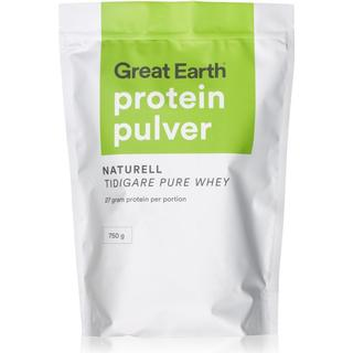 Great Earth Protein Pulver Naturell 750g