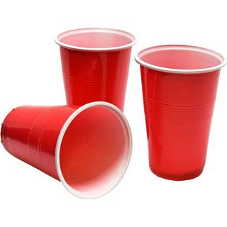 Hisab Joker Plastic Cup American Red 24-pack