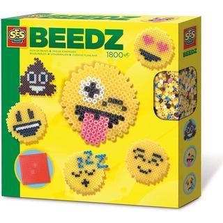 SES Creative Beedz Iron on Beads Emoticons 1800pcs 06231