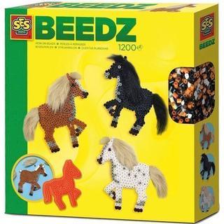 SES Creative Beedz Iron on Beads Horses with Manes 1200pcs 06259