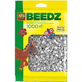 SES Creative Beedz Iron on Beads Grey 1000pcs 00716