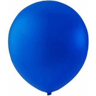 Hisab Joker Latex Ballon Royal Blue 100-pack