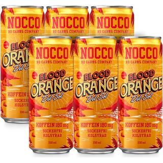 Nocco Blood Orange Del Sol 330ml 6 st