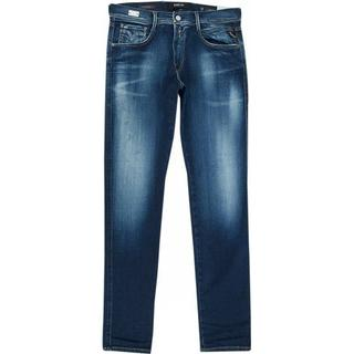 Replay Slim Fit Hyperflex Bio Anbass Jeans - Dark Blue
