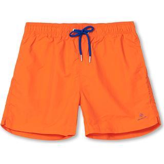 Gant Classic Fit Basic Swim Shorts - Arancia