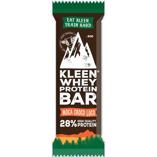 Kleen Whey Protein Bar Moca Choco Loco 1 st