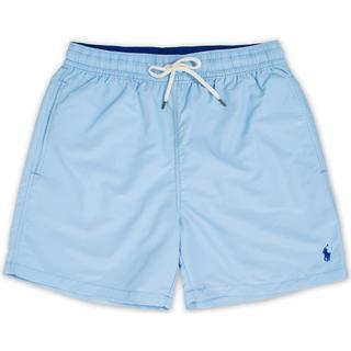 Polo Ralph Lauren Traveler Boxer Swim Shorts - Baby Blue