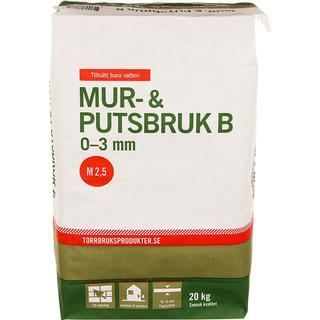 Torrbruksprodukter Mur & Putsbruk B 20kg