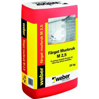 Weber Murbruk M 2.5 B 23017 25kg