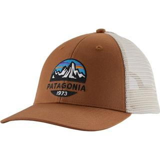 Patagonia Fitz Roy Scope LoPro Trucker Hat - Earthworm Brown