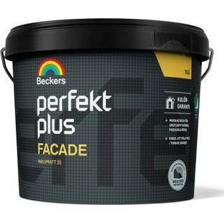 Beckers Perfekt Plus Träfasadsfärger Vit 10L