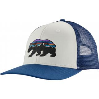 Patagonia Fitz Roy Bear Trucker Hat - White