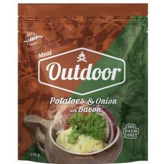 Leader Outdoor Potatoes onion & bacon 150g