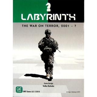 GMT Games Labyrinth: The War on Terror 2001